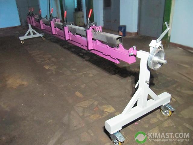 Приспособления для поворота и вращения свариваемых изделий